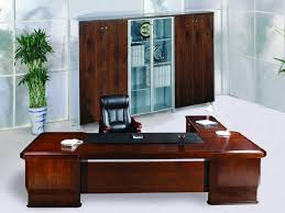 Teal Table L Office Classical High End Office Furniture With L Shape Wooden