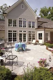 patio ideas luxury patio home floor plans the oversized rear