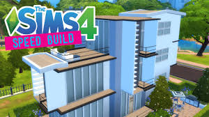 the sims 4 speed build classy townhouse split level house