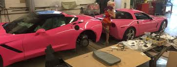 barbie corvette silver little