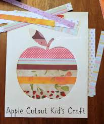 coffee with us 3 apple cutout kids craftapple cutout kids craft