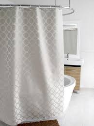 Gray Shower Curtains Fabric Magnificent Gray Shower Curtains Fabric Decor With Fabric Shower