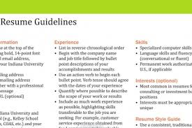 Business Resume Examples Resume Samples U2013 Kelleyconnect Kelley Of Business