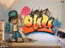Graffiti Bedroom Walls Cool Hire An Artist To Come And Paint A - Graffiti bedroom