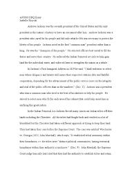 why mba essay sample a p essay mba essays samples andrew jackson essay essay table andrew jackson essay apush dbq essay jackson presidency andrew jackson native