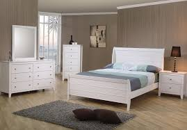 sleigh bed bedroom set 79999 port richmond furniture inc white