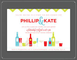 couples shower invitations etsy stock the bar bachelor bachelorette party invitation 55 00 via