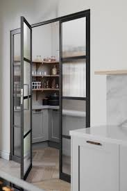 frosted glass kitchen cabinet doors uk 21 pantry ideas larder cupboard ideas for every kitchen