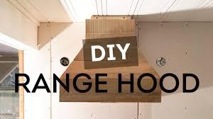 Decorative Range Hoods Diy Range Hood New Floors U0026 Kitchen Progress Cottage House