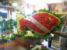 flower arrangements for funerals custom fish arrangement funeral in bayville nj bayville florist