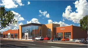 lexus of spokane the auto row building saved by compromise the spokesman review