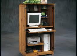 Computer Armoire Espresso Corner Armoire Computer With Hutch Derektime Design Guide To