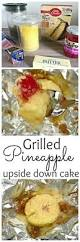 grilled pineapple upside down cobbler the cards we drew