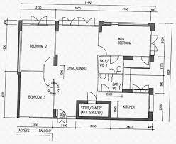 the rivervale condo floor plan floor plans for rivervale street hdb details srx property