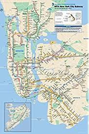 map of ny subway the great new york subway map emiliano ponzi 9781633450257