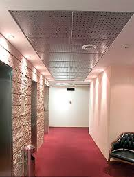 Drop Ceiling Styles by Aluminum Suspended Ceiling Steel Tile 15 Linear Design