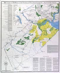 Map Nj Historical New Jersey Revolutionary War Maps