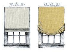 Flat Roman Shades - roman shade flat fold vs casual pleat outside mount colgate
