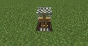 how to make a chess table in minecraft