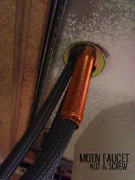 How To Install A Moen Kitchen Faucet by How To Replace A Kitchen Faucet Honeybear Lane