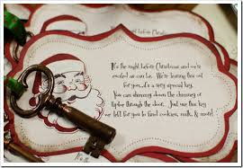 santa key elementary shenanigans magic santa