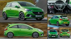 opel green opel corsa vxr new cars 2017 u0026 2018