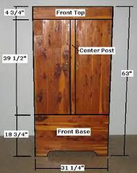 free armoire wardrobe closet plans how to build a wardrobe