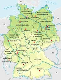 map of countries surrounding germany germany maps