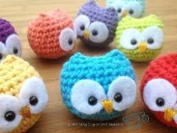 free amigurumi patterns baby owl ornaments