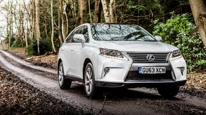 lexus rx 400h review lexus rx review top gear