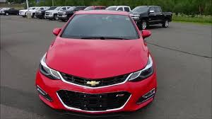 2016 chevrolet cruze lt red w manual transmission youtube