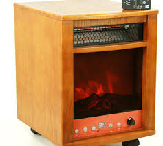 tempting lifezone compact infrared fireplace with heater ction sgh