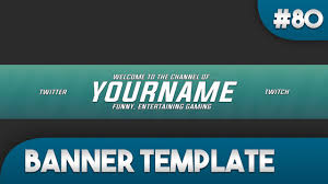 simple youtube banner template 80 free photoshop download youtube
