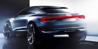 audi germany audi reveals teaser of futuristic e tron sportback concept the drive