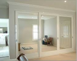 sliding mirror wardrobe doors mirror closet door options pinteres