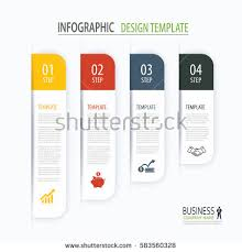 modern tab index infographic options template stock vector