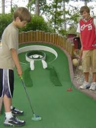 Backyard Golf Games Wildwedge Mini Golf Course Voted Best Miniature Golf In Minnesota
