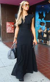 paris hilton shoping for halloween costumes in west hollywood 10