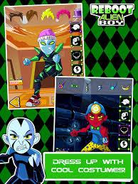 reboot alien boy free ultimate dress games ben 10 alien force