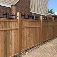 custom fence ottawa fence one ottawa