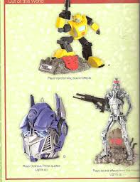 carlton 2009 heirloom collection transformers ornaments