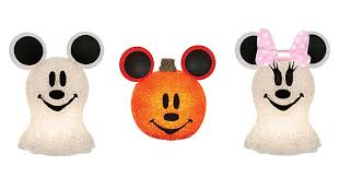 get spooky with sparkling disney decorations