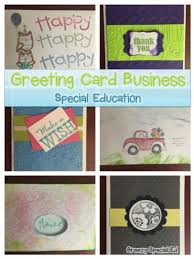 business greeting student greeting card business for students with special needs
