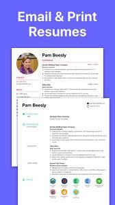 Resume Designer App Resume Builder Cv Designer On The App Store