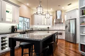 modern farmhouse kitchen with white cabinets the preserve modern farmhouse haile kitchen bath