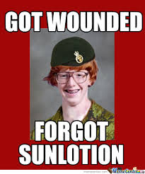 Ginger Meme - ginger soldier by mrb meme center