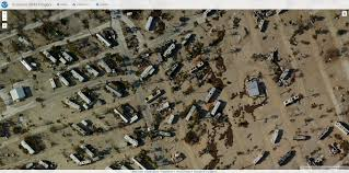 Map Key West Details Of Aerial Images Showing Irma U0027s Destruction In Key West