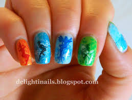 delight in nails the four elements elemental fairies