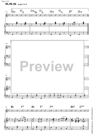 sing sing sing with a swing louis prima sing sing sing piano accompaniment sheet for piano and