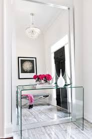 Entryway Table Decor by Collection Of Mirrored Entryway Table All Can Download All Guide